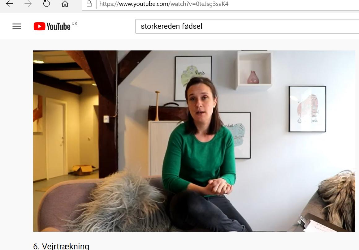 Gratis online fødselsforberedelse fra Storkereden: 2. Del